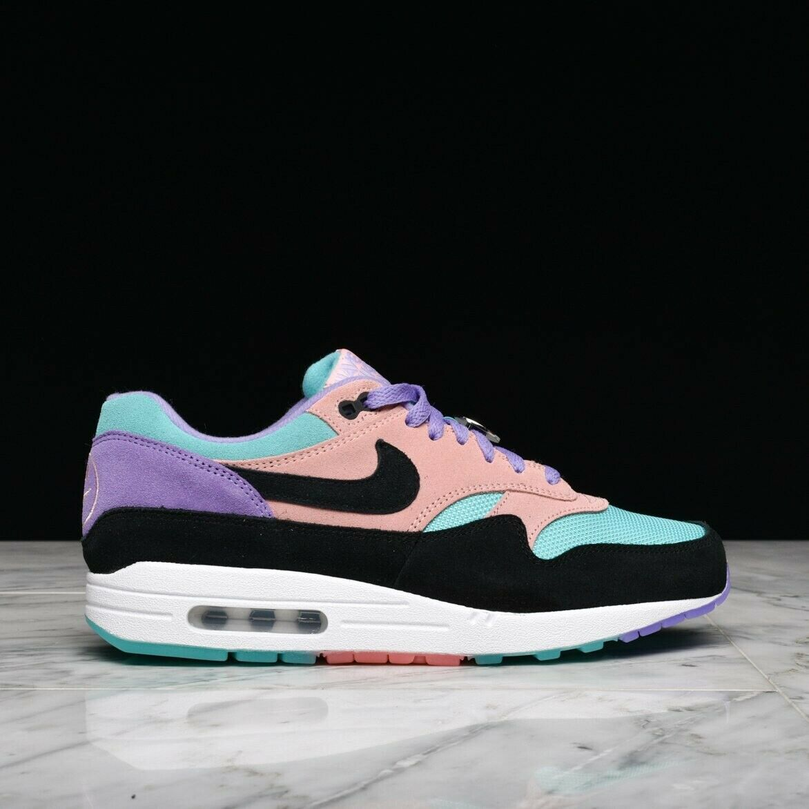 Nike Air Max 1 Have A Nike Day Purple Coral Sz 9.5 BQ8929-500 atmos patta parra