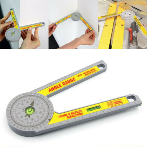 Multifunction Miter Saw Protractor Angle Finder Miter Cuts Layout Work Tool