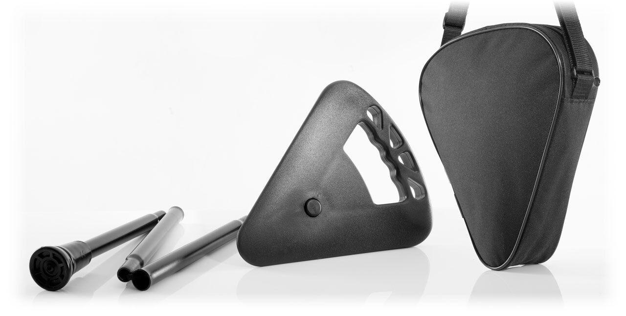 Flipstick sitzstock Canne Pliable Noir Avec Sac messesitz 7703 7703 7703 S lc1µ * 1536e8