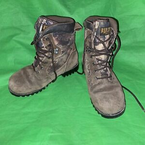 Red Head Thinsulate Camo Boots Hunting 600 Gram Youth Size 5M 100% Waterproof