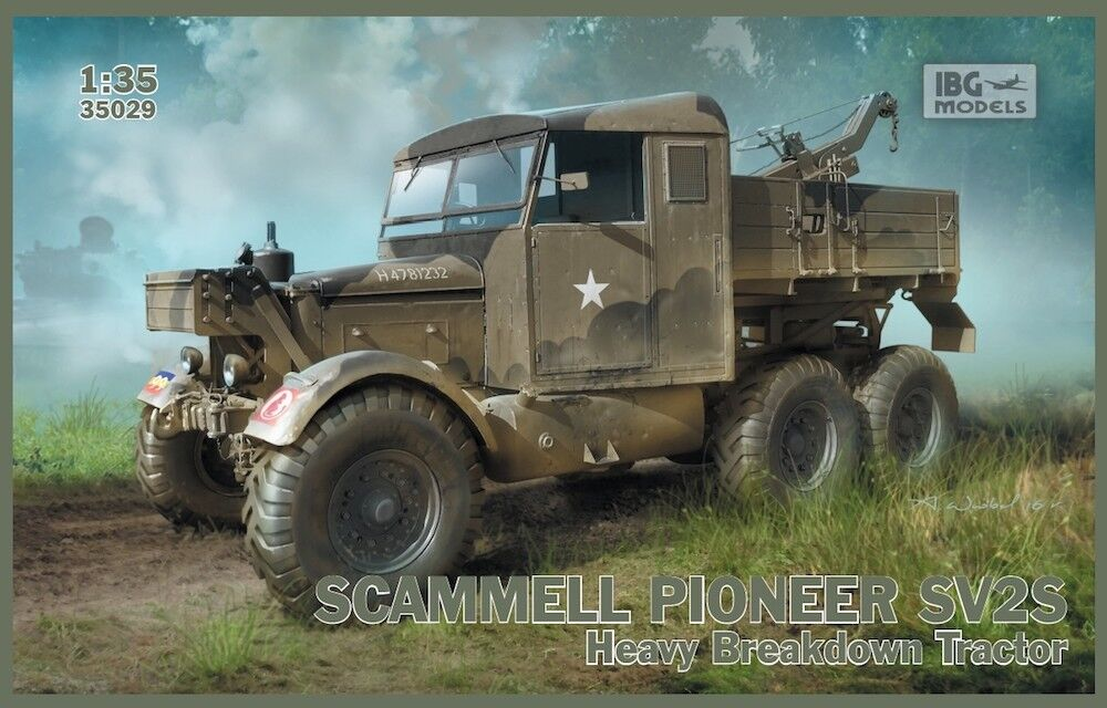 IBG 1 35 Scammell Pioneer SV2S Heavy Breakdown Tractor @