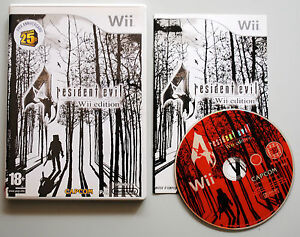 Jeu-RESIDENT-EVIL-4-pour-Nintendo-Wii-PAL-COMPLET-CD-remis-a-neuf-VF