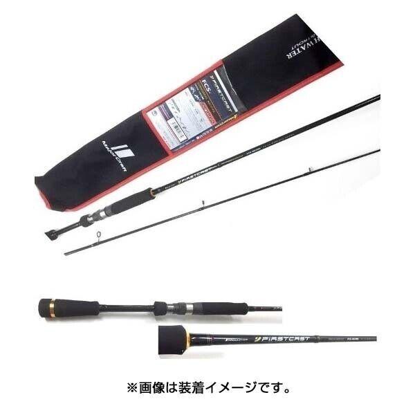 Major Craft primerocast Bass FCS-602UL Spinning Rod Rod Rod per Basso 35d