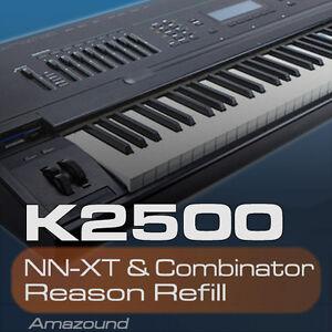 KURZWEIL-K2500-REASON-REFILL-282-PATCHES-NNXT-amp-COMB-3926-SAMPLES-24bit-DOWNLOAD
