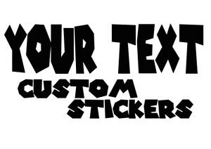Personalized name vinyl decal sticker for car//truck laptop//netbook window custom