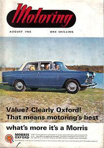 Motoring 865 Nuffield Mag Mini Moke Morris Oxford Diesel Test Mg