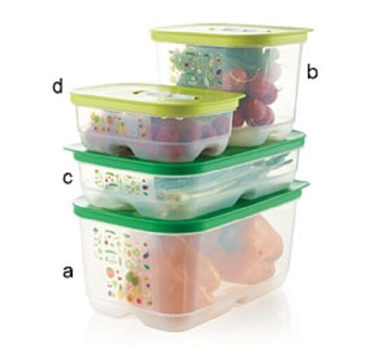 Tupperware VentSmart FridgeSmart Medium High 1.8L, Small High 1.8L Free Shipping