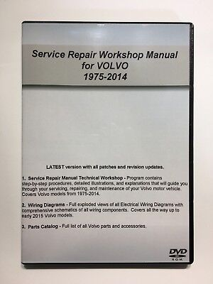 For Volvo 2001 2014 Xc70 V70 Service Repair Workshop Manual Factory Ebay