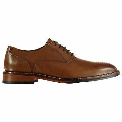 Firetrap Blackseal Farlow Shoes Mens Gents Derby Laces Fastened Tonal Stitching Harmonische Farben