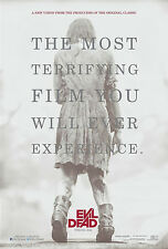 THE EVIL DEAD - 2013 NEW MOVIE POSTER - 24x36 ZOMBIE GIRL HORROR 3163