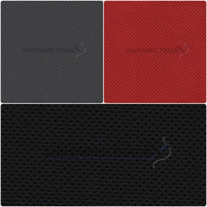 Semi Perforated Leatherette Car Seat Material Faux Leather