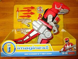 imaginext power rangers red ranger t rex zord mmpr tyrannosaurus jason dinozord ebay. Black Bedroom Furniture Sets. Home Design Ideas