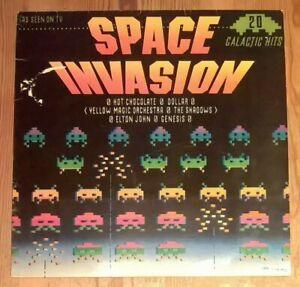 Various-Space-Invasion-Vinyl-LP-33rpm-Compilation-1980-Ronco-RTL-2051