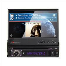 """NAKAMICHI 7"""" WVGA 1 Din AV Multi-Media Receiver NA1850"""