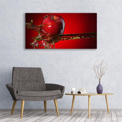 Tulup Wandbilder Glasbilder Dekobild 120x60 Blume Wasser Kunst