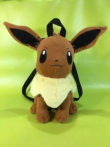 Pokemon-Eevee-14-034-Plush-Backpack-Back-Pack-Tote-Bag-by-Nintendo-2015