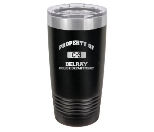 Personalized Engraved //// Police //// Deputy //// Travel Tumbler //// Mug