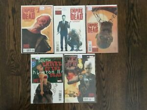 Empire-of-the-Dead-15-Comics-Act-1-1-5-all-signed-Alex-Maleev-Act-2-3-1-5-NM