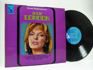 JULIE-LONDON-great-performances-1st-uk-press-LP-EX-EX-LBS-83049-vinyl-album