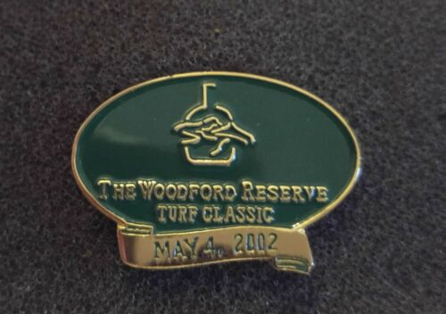 2002 The Woodford Reserve Turf Classic Collectible Pin