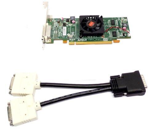 Dell 236X5 AMD Radeon HD6350 Video Card 512MB PCI-e X16 DMS-59+DUAL DVI SPLITTER