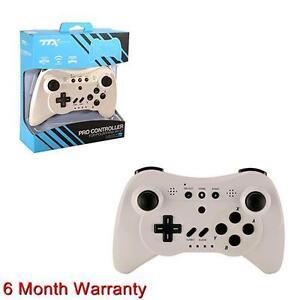 wii u wiiu wireless controller gamepad joystick pro white ebay