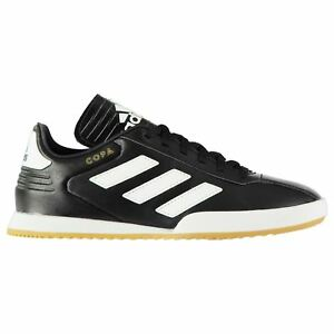 814a5f6b06e Details about adidas Kids Boys Copa Super Leather Junior Trainers Low Top  Lace Up Casual Shoes