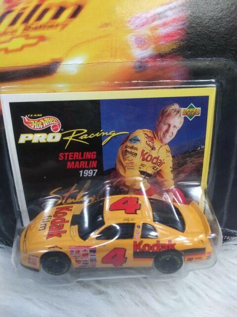 17408 Kodak Sponsor Collectors 1st Edition New in Package Sterling Marlin 1997 HotWheels Pro Racing Die-Cast Car Scale 1:64 \u00a91996 Matel