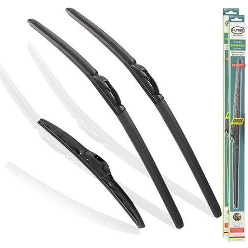 BMW 1 SERIES 2011-on Full set of 3 windscreen wiper blades FROM HEYNER PT