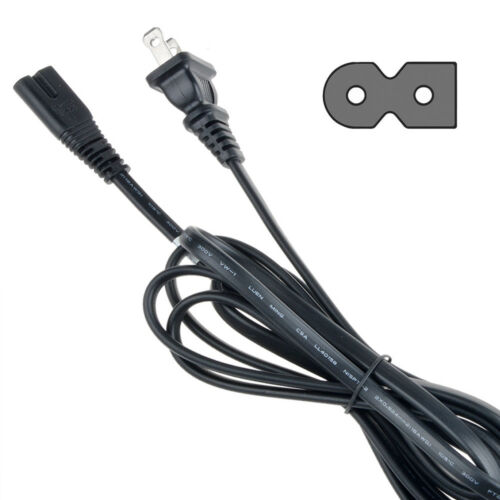 6ft 2-Prong AC Power Cord for Panasonic K2CB2CB00018 DMPBD10A DMREA18 DMREA38V
