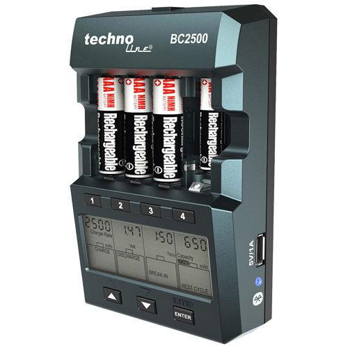 BC 2500 AKKU-LADEGERÄT 14 IN 1 SMARTPHONE-STEUERUNG ACCU-LADERGERÄT LCD-ANZEIGE