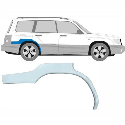 Subaru Forester SF 1997-2002 Panel de Reparación de Arco de Rueda Trasera Ala Trasera//Derecho RH