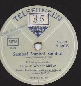 RIAS-TANZ-ORCH-WERNER-MULLER-Samba-Samba-Samba