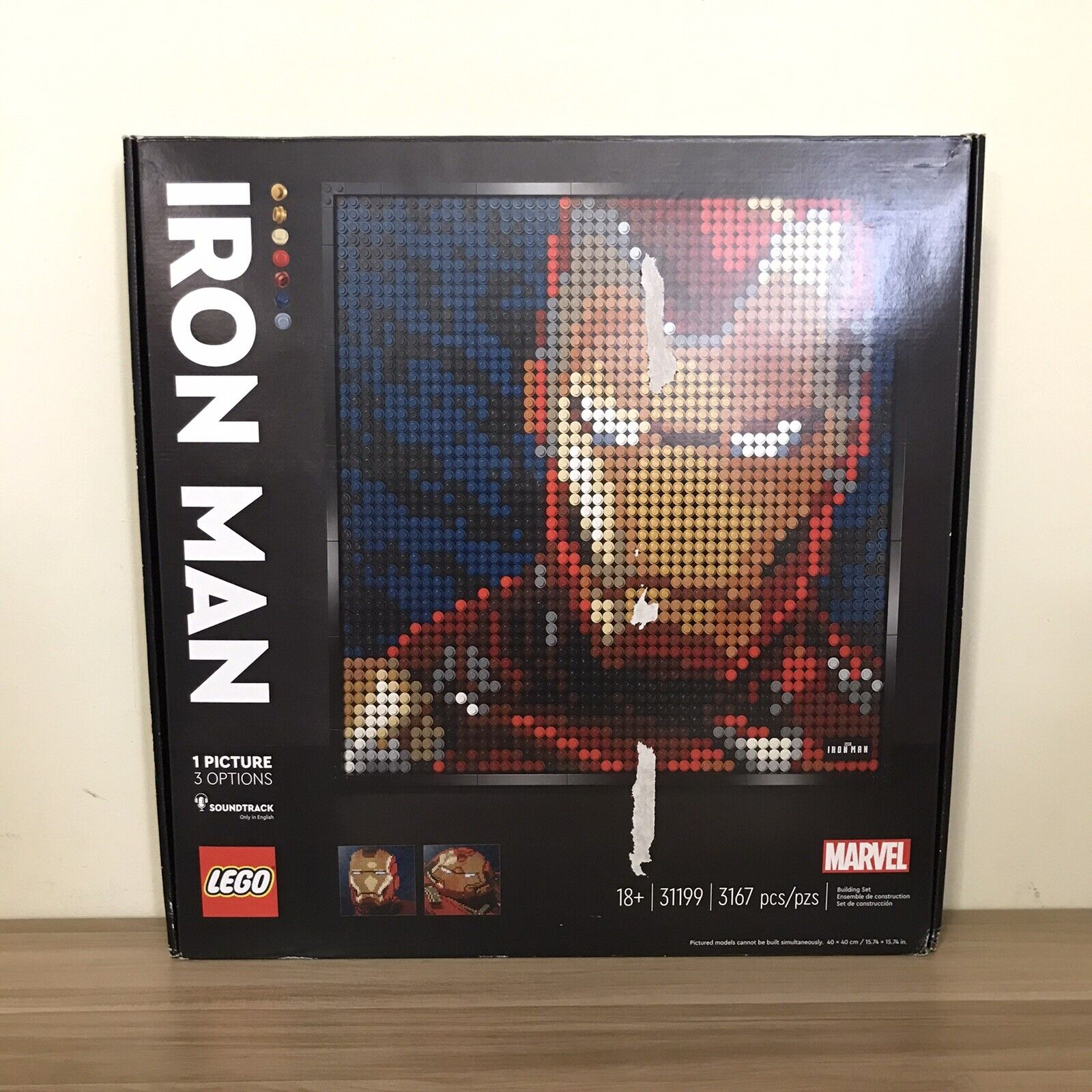 Lego Art Marvel Studios- Iron Man #31199 on eBay thumbnail