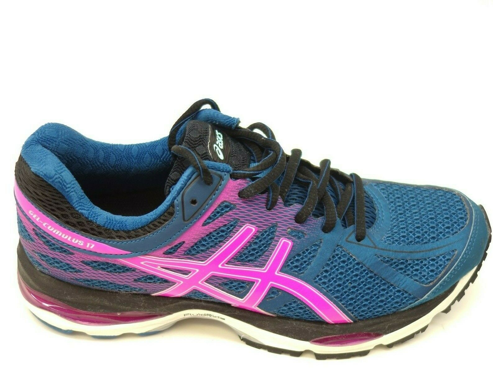 Asics Gel Cumulus 17 US 7.5 EU 39 Teal Athletic Running Training Womens shoes