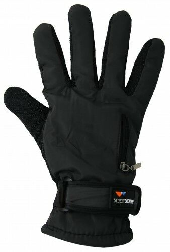 Womens Ladies Thermal Fleece Lined Sports Ski Driving Gripper Gloves Insulated