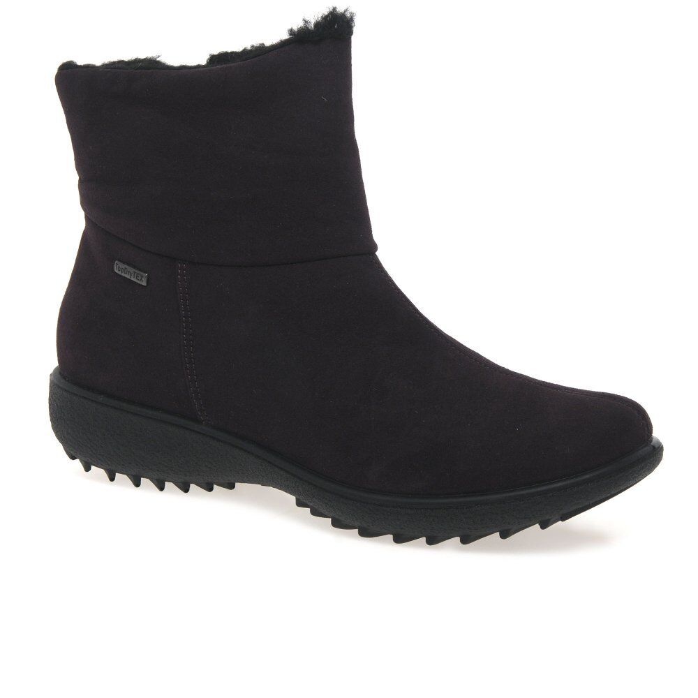 Grandes zapatos con descuento Romika nina mujer impermeable Ante look Botines
