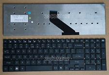 for Gateway NV52L08u NV52L15u NV52L23u NV55S05u NV55S14u keyboard Black US