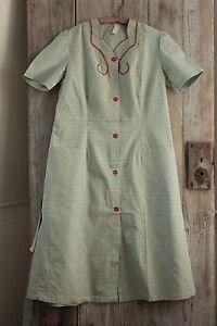 vintage s house dress coat 1950 s work