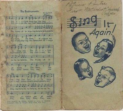 Sing It Again! Methodist Church 1946 Pocket Book of