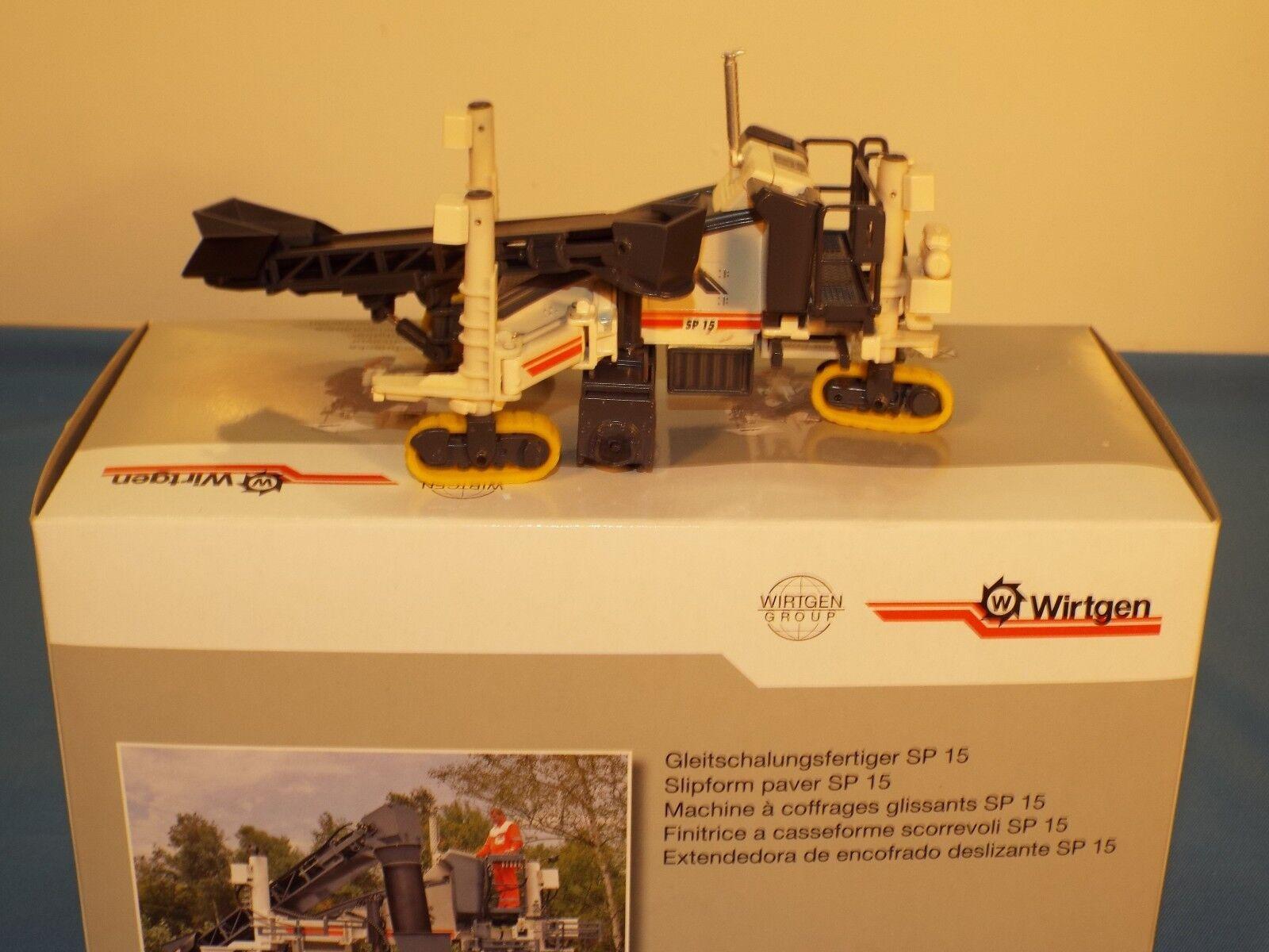 NZG No 8071 Wirtgen SP15 Slipform Paver ( Belt feed) New