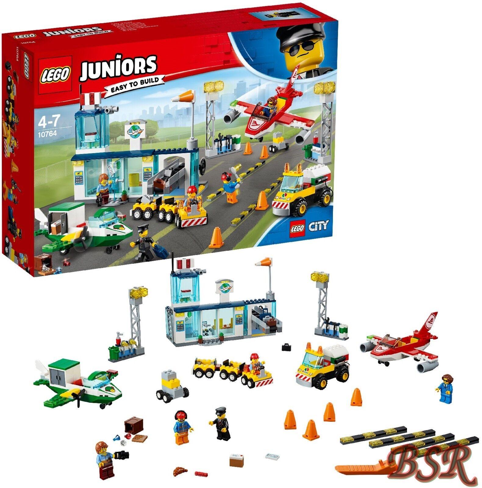 LEGO® Juniors  10764 Flughafen & 0.-  Versand & NEU & OVP