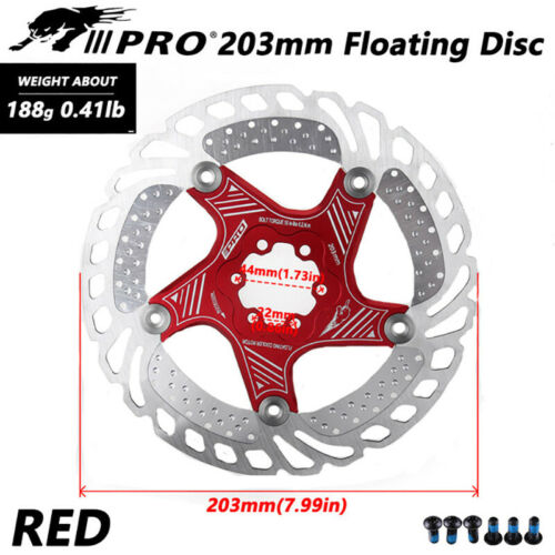 Floating Rotor MTB Mountain Bike Disc for SHIMANO SRAM 140//160//180mm Match 6Bolt
