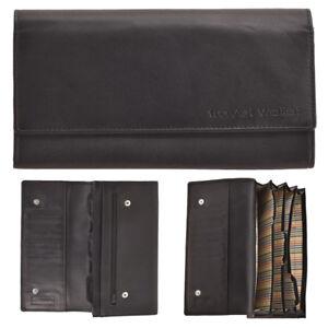 0eb5f110eb9 Mens Ladies Soft Quality Leather Black Travel Document Passport ...