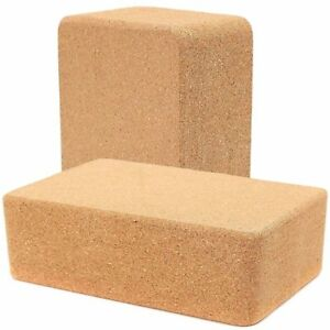 Cork-Yoga-Block-Eco-Friendly-Stretching-Aid-Brick-Gym-Pilates-2-x-83