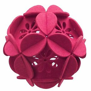 Flower Petals 3D Puzzle Ornaments - 2 pc Set Home Decor Party Decorations