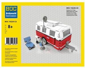 lego roter camping anh nger 980 teile lego 10220 vw bulli. Black Bedroom Furniture Sets. Home Design Ideas