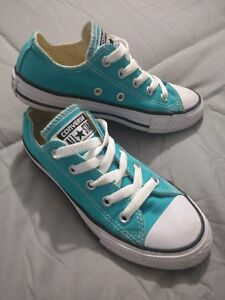 da0858da081f Image is loading Converse-Chuck-Taylor-All-Star-Youth-Mediterranean-Blue-