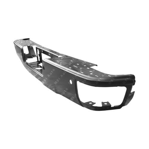 NEW Primered Steel Rear Bumper Face Bar for 2014-2018 Silverado /& Sierra W// Step