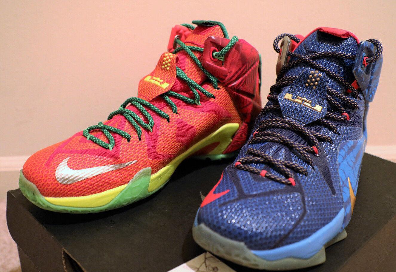 Nike Nike Nike - zoom lebron 12 xii, was die 11 promo - stichprobe pe 15 14 13 10 9 8 niedrig a14b42
